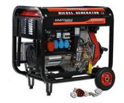Дизельный генератор Kraft&Dele KWD-6500E (KD-120) germany