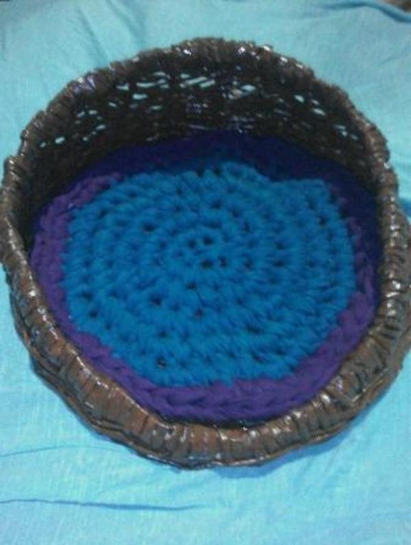 Плетеная корзина для кошки,  собаки 2