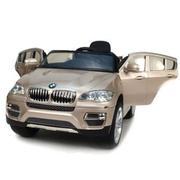 Новинка сезона Детский электромобиль BMW X6: PLATINUM-GOLD