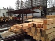 Производство доски и бруса от 3 до 7.5 м. От 10 куб. м. под заказ