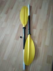 Двухсекционное весло для байдарок и каяков